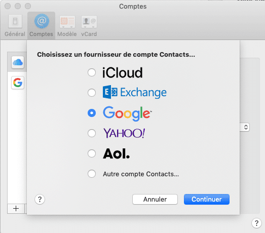 Google Contacts + Contacts macOS + Alfred